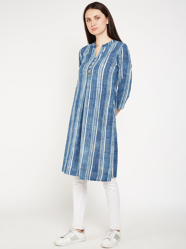 lyla woman Front pleated kurta