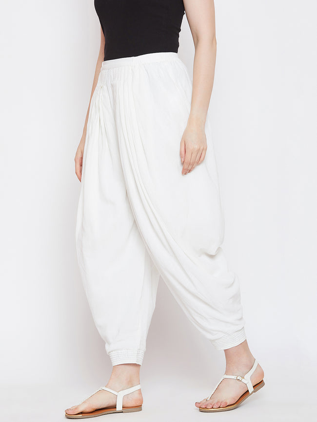 LYLA WOMAN FLARED DHOTI PANT