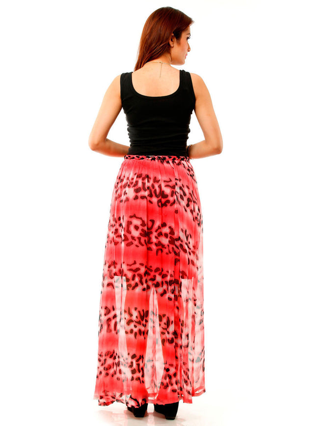 Printed Georgette Skirt