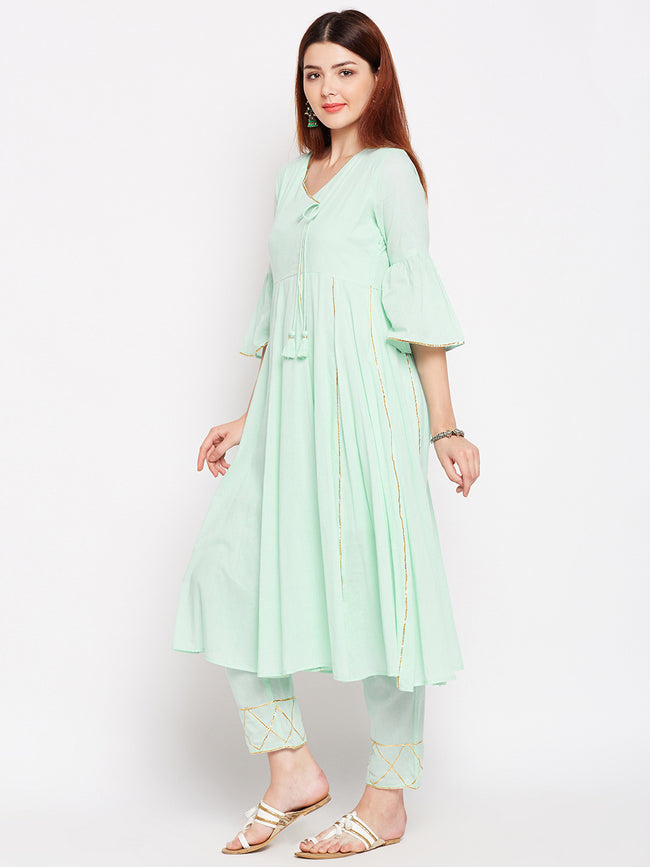 Lyla Gota Kurta And Pant Set