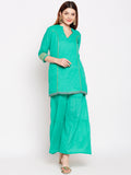 Lyla Gota Sharara And Short Kurta Set