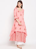 Lyla Layered Cotton Kurta