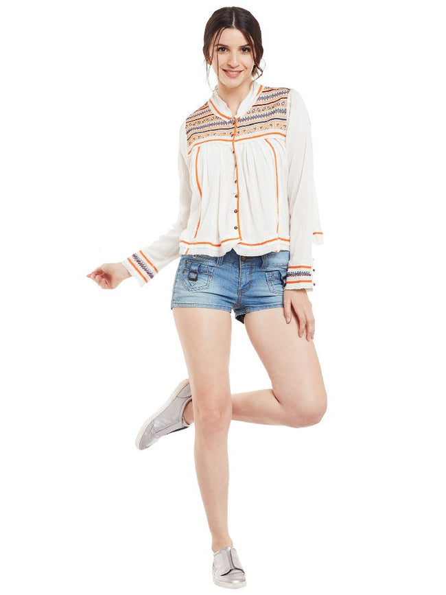 Offwhite-embroidered-front-open-top-