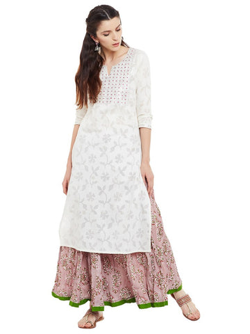 Offwhite-kurta-with-pittan-work