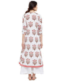 Block-printed-flared-kurta-with-side-kalis
