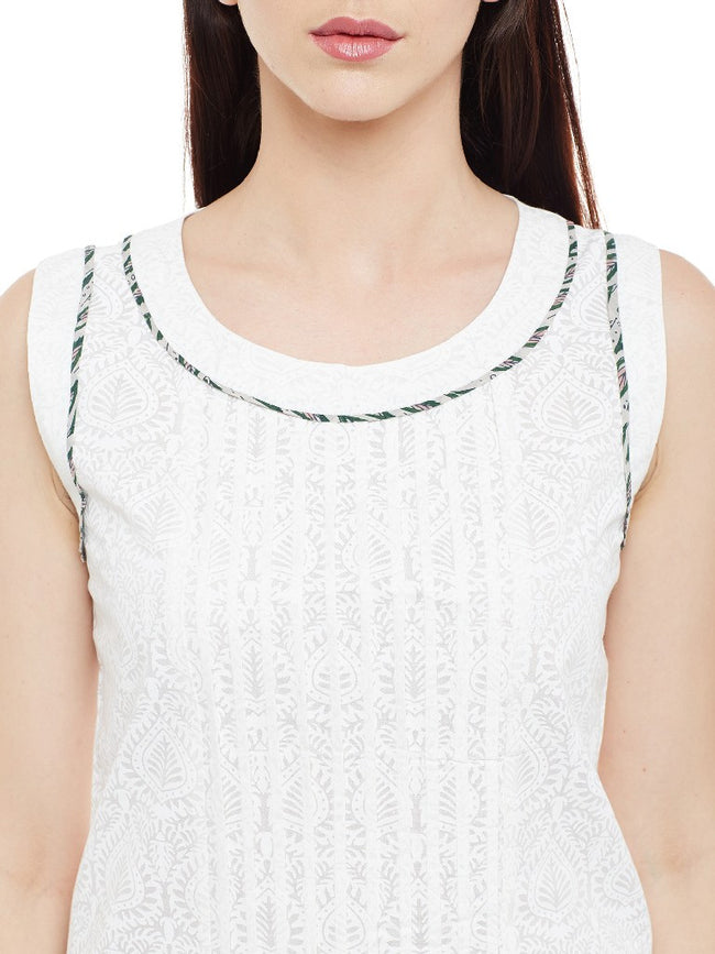 Pleated-solid-white-top