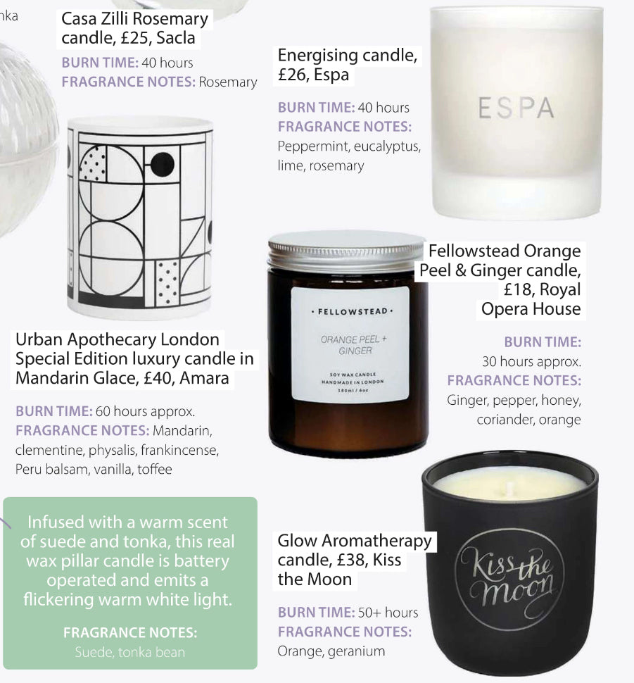 HOME STYLE - CANDLES FOR SPRING 2020
