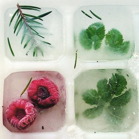 PRETTY SUMMER ICE CUBES