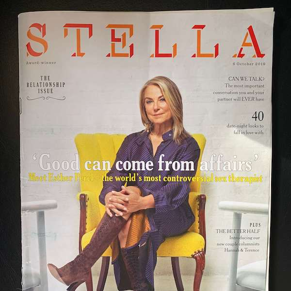 STELLA MAGAZINE REVIEW - DREAM NIGHT CREAM FOR FEET - OCT 2019