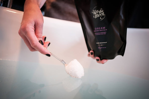 dream bedtime bath salts to ease aches and pains