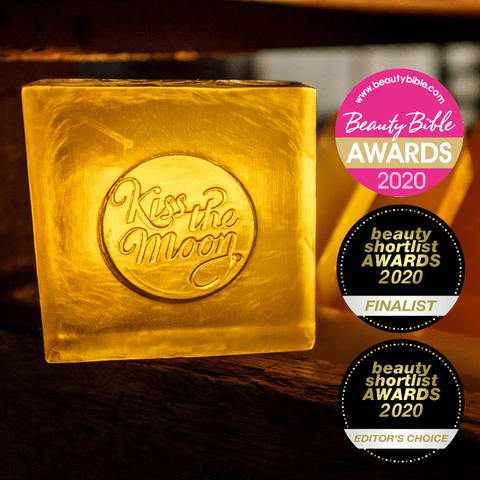 glow soap with awards