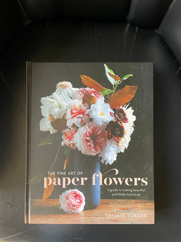 making paper flowers book