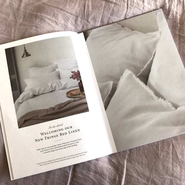The Linen Works bedding - loved by Kiss the Moon