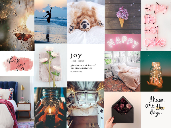 July 18 Inspiration Board: Jump for Joy