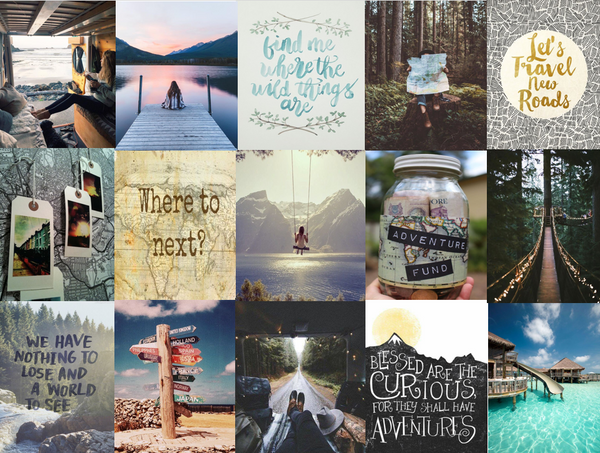 AUGUST INSPIRATION BOARD DISCOVER SEOMTHING NEW