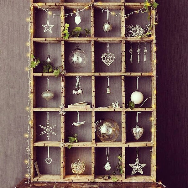 DIY Advent Calendar Ideas spotted by Kiss the Moo