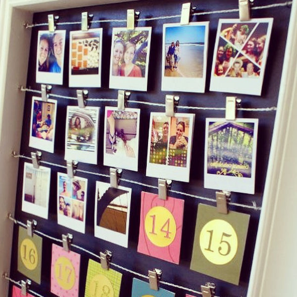DIY Advent Calendars spotted by Kiss the Moon