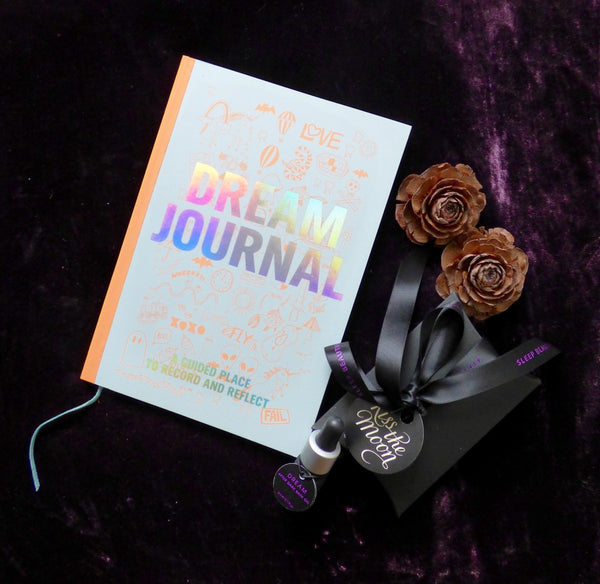 Dream Journal & DREAM After Dark Bath Oil by Kiss the Moon