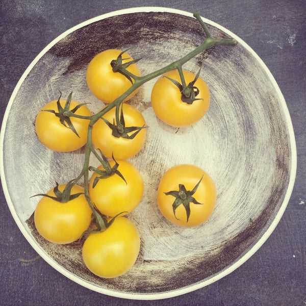 yellow tomatoes - skin superfood by Kiss the Moon