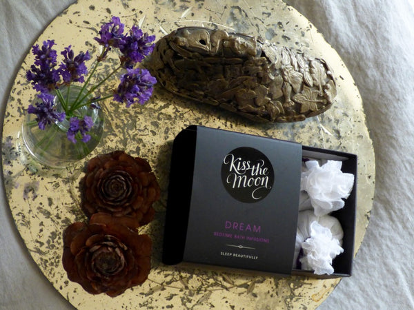DREAM Bedtime Bath Infusions by Kiss the Moon