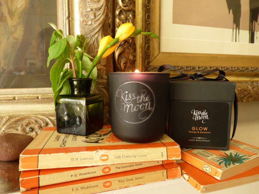 GLOW Aromatherapy Soy Candle by Kiss the Moon