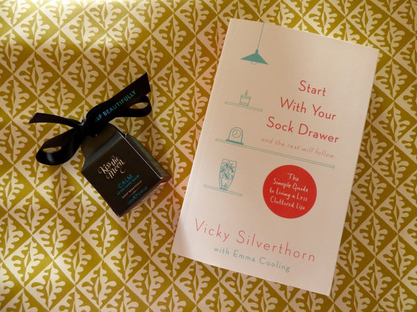 Start with your Sock Drawer - recommended by Kiss the Moon