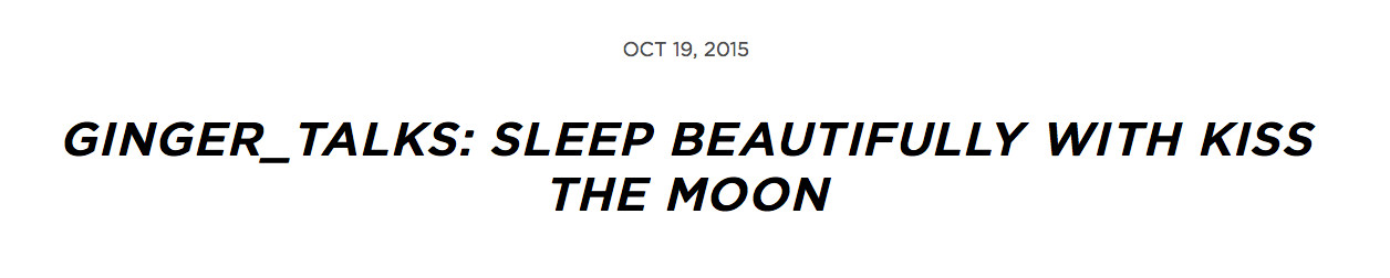 Kiss the Moon review by beauty blogger Ginger Talks