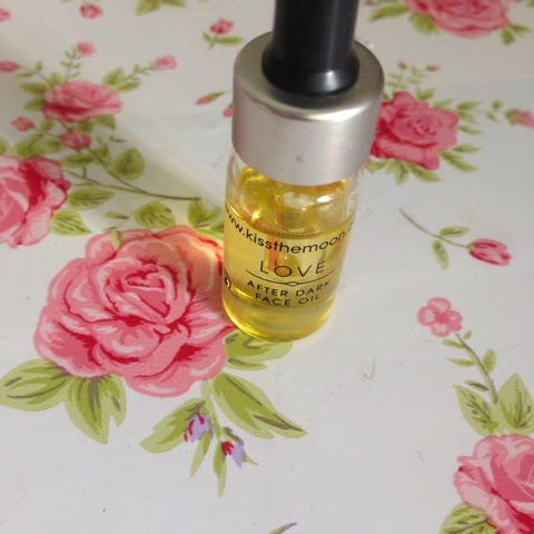 kiss the moon, night time face oil
