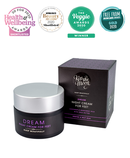 DREAM NIGHT CREAM FOR FEET Soothe & heal overnight with Lavender & Bergamot