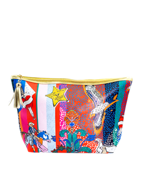 <strong>JESSICA RUSSELL FLINT</strong> <br/>KANSAS<br/> Classic Makeup Bag