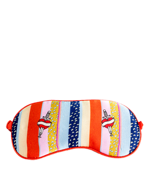 <strong>JESSICA RUSSELL FLINT</strong> <br/>KANSAS<br/> Silk Sleep Mask