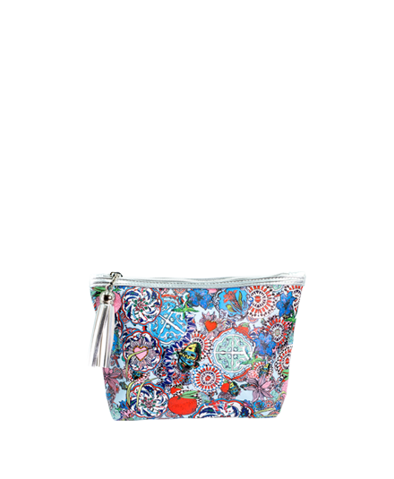 <strong>JESSICA RUSSELL FLINT</strong> <br/> ROCK THE KASBAH<br/> Classic Makeup Bag
