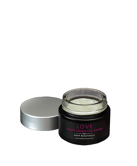 <strong>LOVE</strong> <br/> MIDNIGHT ROSE GIFT SET <br/> Hand Cream with Violet & Wren Sleep Mask