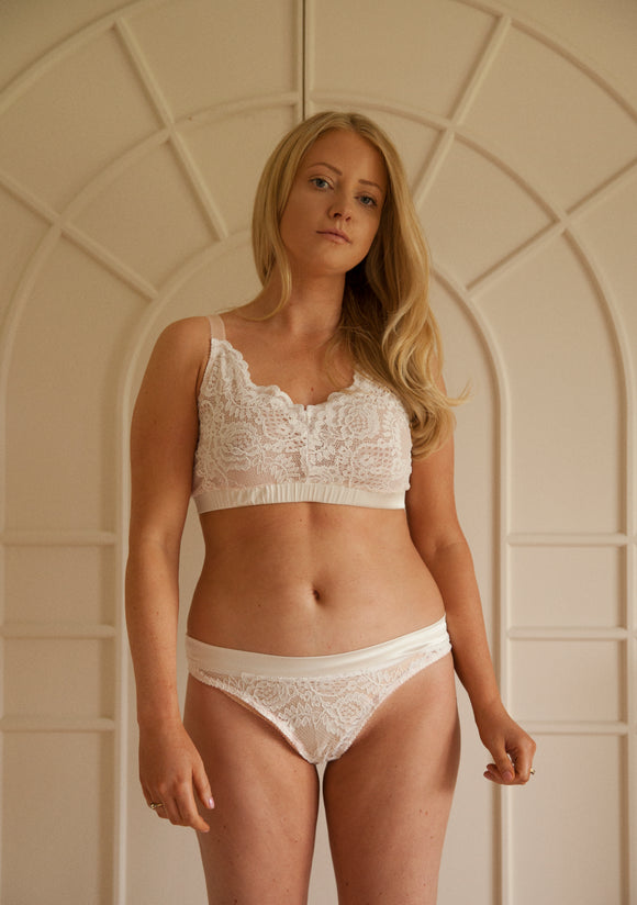 Sample Sale - Aurora Thong Ivory