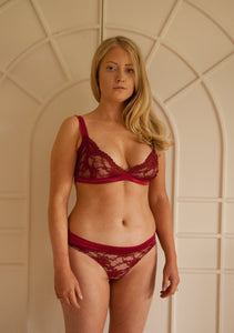 Ruby Triangle Bralet