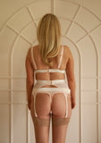 Aurora Suspender Belt Blush