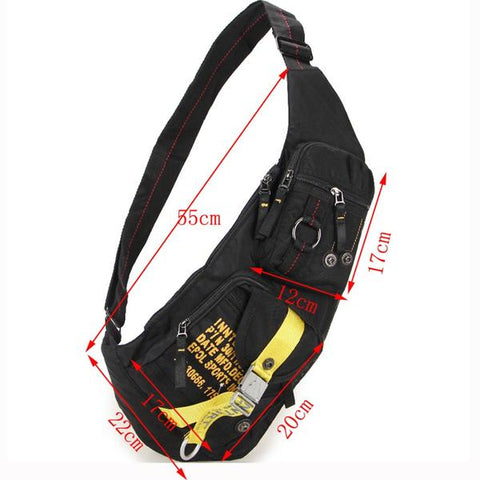 bikers chest bag