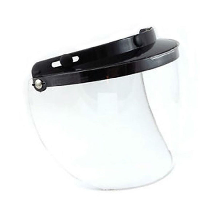 Daniel Smart Three Snap Flip Helmet Shield , Hard Coated Clear