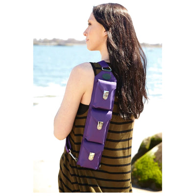 Daniel Smart Purple Microfiber Freedom Sling
