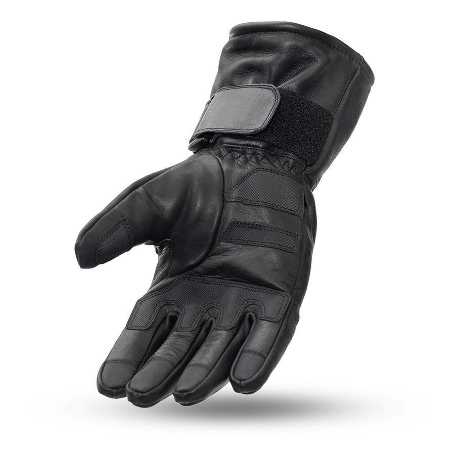First Manufacturing Waterproof Gauntlet Leather Gloves - American Legend Rider