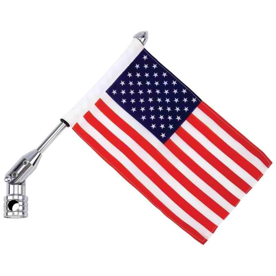 Jillian USA Flag and Motorcycle Flagpole Mount