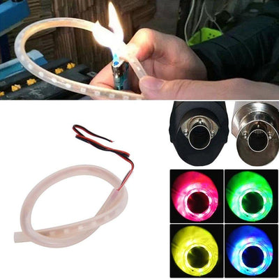 Motorcycle Exhaust Pipe Light