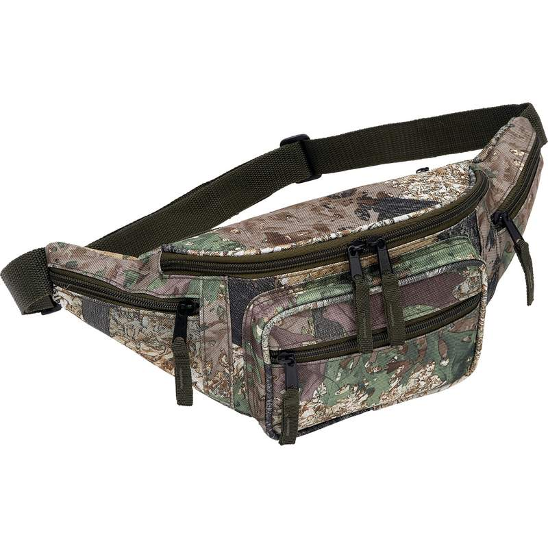 Jillian Camo Water-Resistant Waist Bag