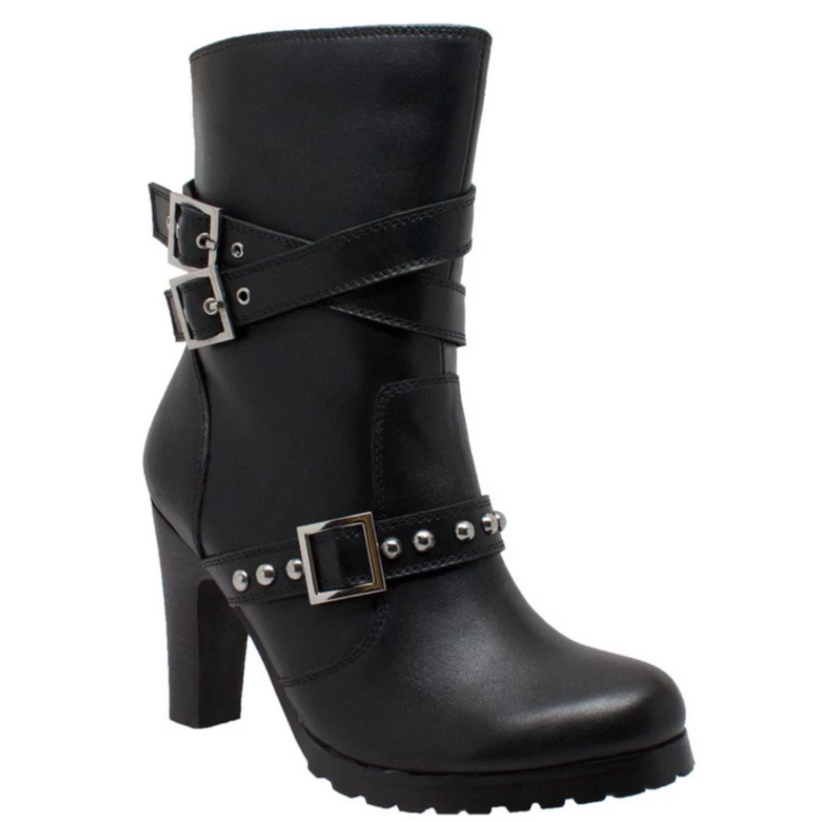 Daniel Smart Women's 3-Buckle Heeled Boots