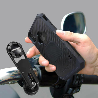 Daniel Smart Motorcycle Bar Clamp Mount Kit