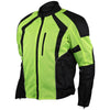 Vance Leather Men's Hi-Vis Mesh Motorcycle Jacket with CE Armor