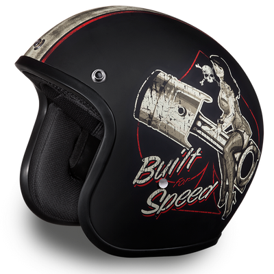 D.O.T Cruiser Built For Speed Helmet