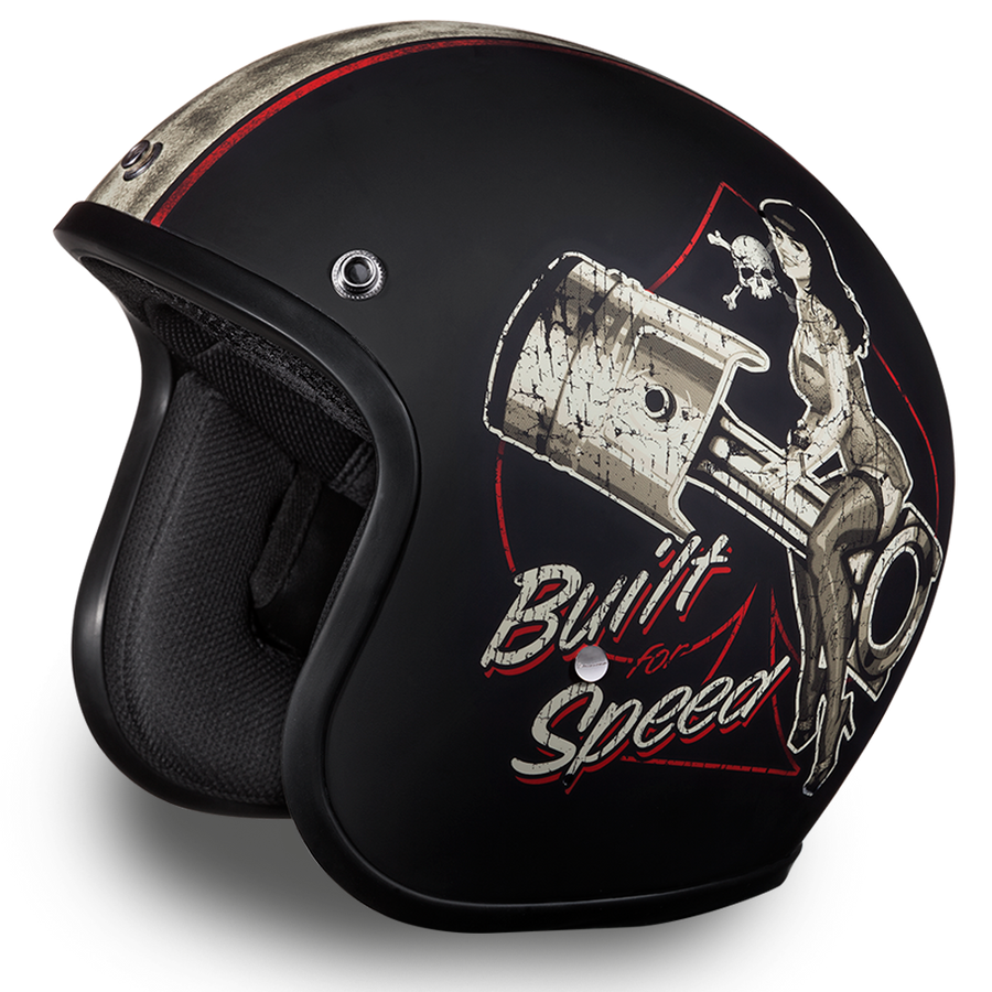 Daytona D.O.T Cruiser Built For Speed Helmet - American Legend Rider