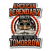 American Legendary Biker Sticker
