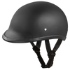 D.O.T. Hawk Dull Black Helmet